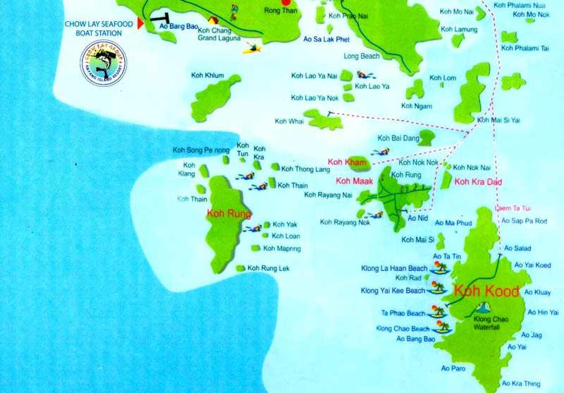 Остров Ко Мак: вопросы и ответы